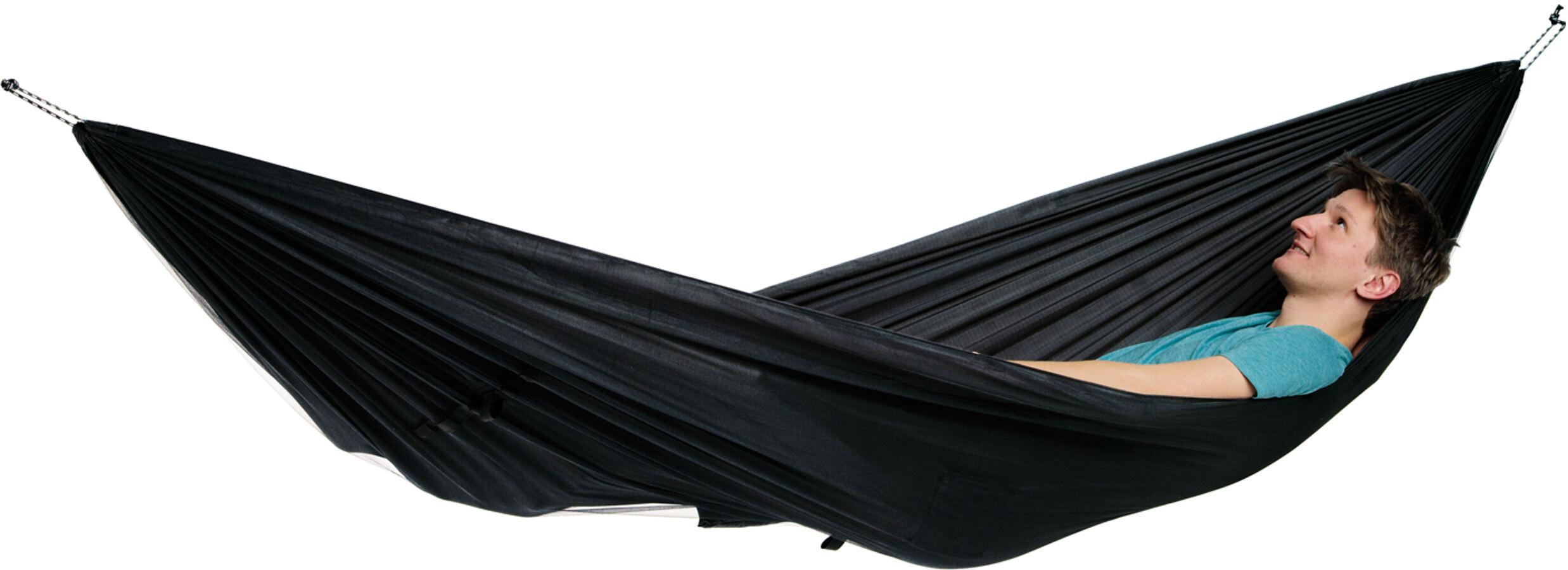 Amazonas Moskito Traveller Extreme Hamac Noir Sur Campz
